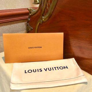 LOUIS VUITTON AUTHENTIC DUSTBAG AND RECEIPT ENVELOPE (LV luxury bag and wallets)