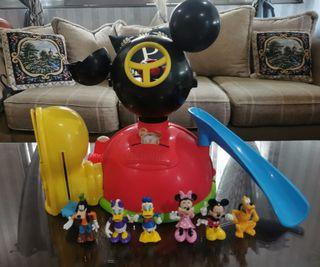 Mickey Mouse Clubhouse with Mickey and friends
