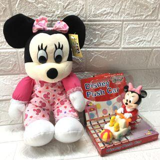 Minnie Stuffed Toy and Small Toy