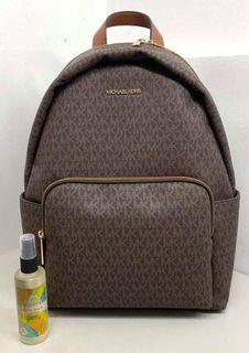 MK erin large backpack mono brown Original