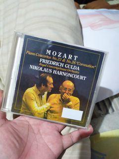 Mozart cd friedich gulda cd nikolaus harnoncourt cd classical music