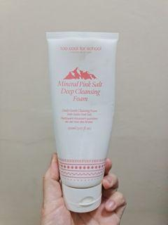 Too Cool for School Mineral Pink Salt Deep Cleansing Foam