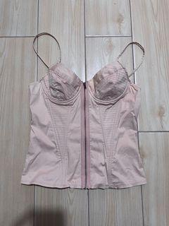 Topshop corset/bustier top