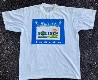 Vintage Boliden battery Permotoran T-shirt