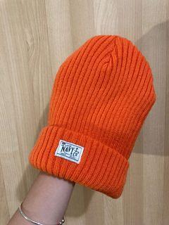 亮橘色毛帽🍊