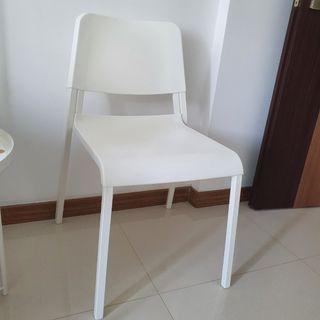 Ikea white dinning chair