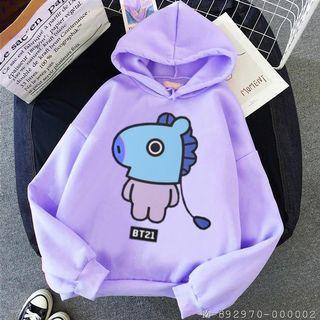 Jaket hoodie anak perempuan