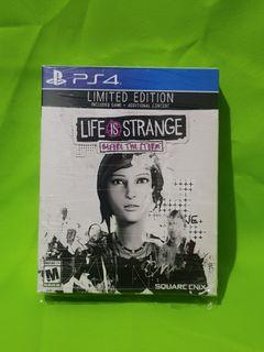 Life Is Strange Before the Storm Limited Edition PS4 Playstation 4