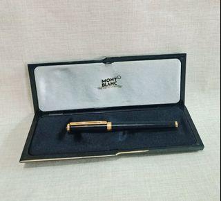 Montblanc NOBLES fountain pen.