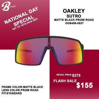 Oakley Sutro SALE fr $155 onwards! SG NATIONAL DAY SPECIAL!