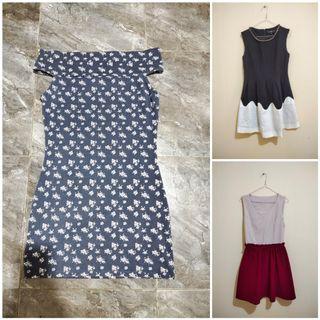 OBRAL Dress Wanita Sabrina Cotton On Size M