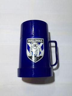 Original Big Bulldog Plastic Thermos Water Bottle Hot and Cold Thermos