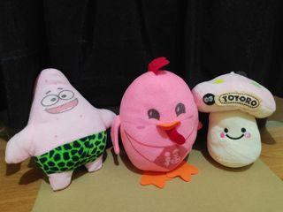 Pink Stuffed Toy Bundle