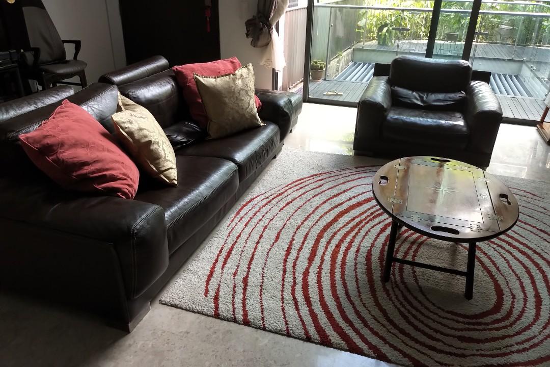 Leather Sofa Set 700sgd, Where Is Roche Bobois Furniture Made