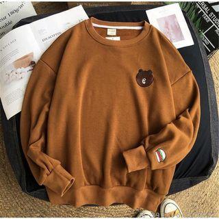 Sweater crewneck wanita