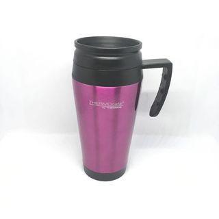 Thermos Coffee Travel Mug Stainless Steel Purple 400ml