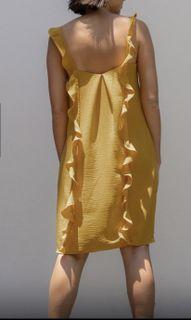Wear Anika Emilia Mustard dress