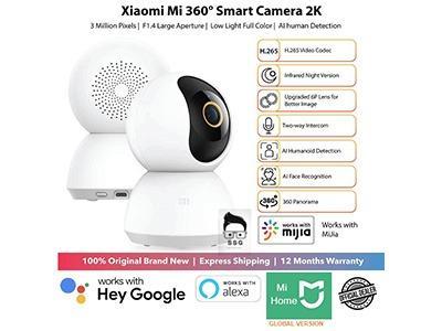 Xiaomi 360 Home Security Camera CCTV 2K with 1yr Local Warranty
