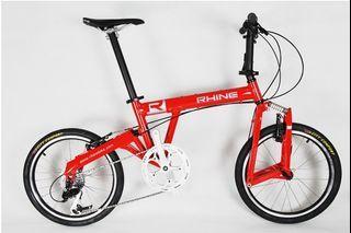 腳踏車20吋小徑車小輪車自製鳥車公路車鋁合金車架禧瑪諾變速