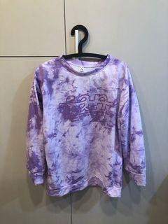 紫色渲染上衣