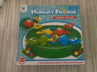 青蛙吃豆豆 玩具 早教玩具