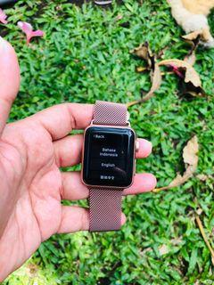 Apple watch series 3 rose gold 38mm iwatch