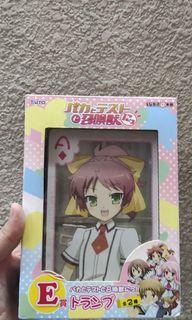 Free ship Baka to test shoukanjuu big playing card deck complete in box