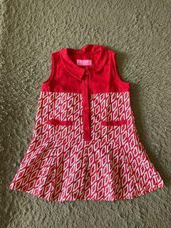 Batik Dress untuk usia 2-3th