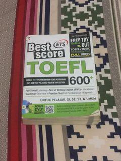 Buku TOEFL Bahasa Inggris