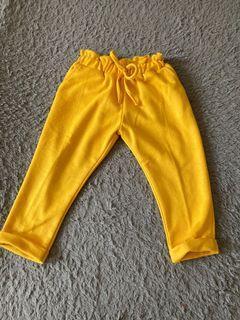 Celana Panjang Yellow anak usia 2th