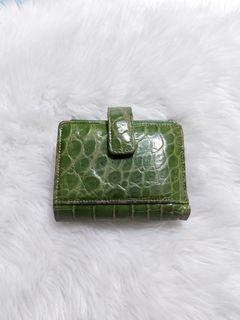 Croc Leather Wallet