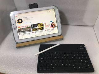 Dijual cepat BU tawar sampe jadi samsung note 8.0 + S Pen + infra remote + jailbreak mod aplikasi (spotify,scribd, wps berbayar semua gratis)