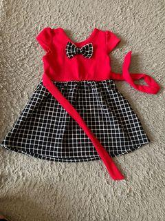 Dress anak perempuan usia 2-3th