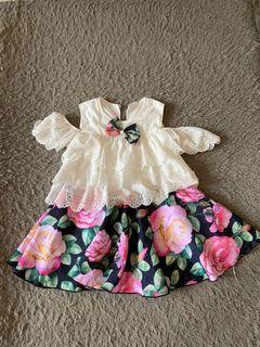 Flower Sexy Dress usia 2th