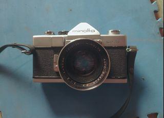 Kamera Analog SLR Minolta SR 1s