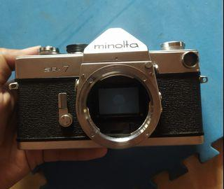 Kamera Analog SLR Minolta SR 7 BO
