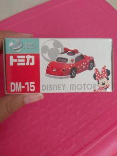 Mobil Tomica Takara Disney Minnie Mouse Baru