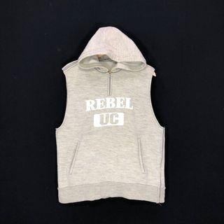 Rebel Uc Undercover Jun Takahashi Small Parts Non Sleeve Hoodie