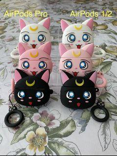 Sailor Moon AirPods 1/2 and Pro Cases (Brand New)