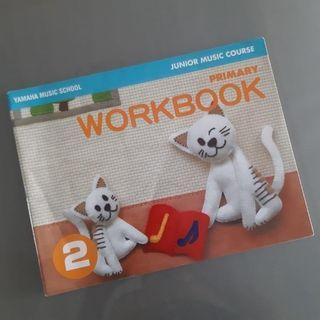 Yamaha JMC Junior Music Course Workbook 2 Workshop Book Two Children's Class