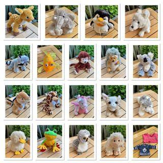 ⭐️18 WEBKINZ IN EXCELLENT CONDITION (MOST RARE AND RETIRED)