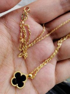 18k VCA necklace