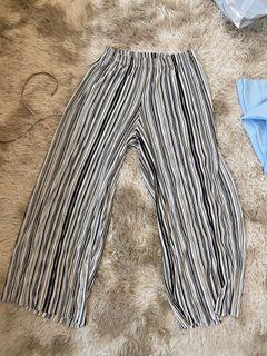 Bershka Pin Stripe Culottes
