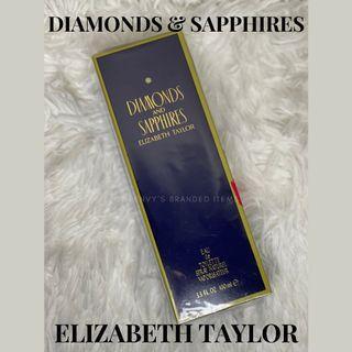 BNEW in box DIAMONDS AND SAPPHIRES ELIZABETH TAYLOR  Eau De Toilette