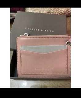 小ck粉色卡夾零錢包(運費35
