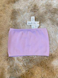 Cotton On Lilac Tube Top
