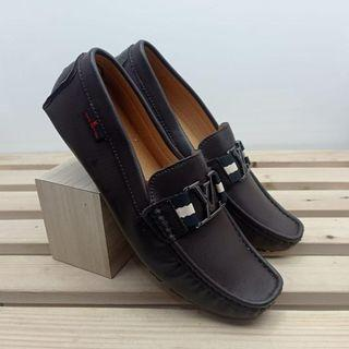 MONTE CARLO MOCCASIN brown louis vuitton loafers  size 42-44