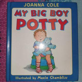 My big boy potty book