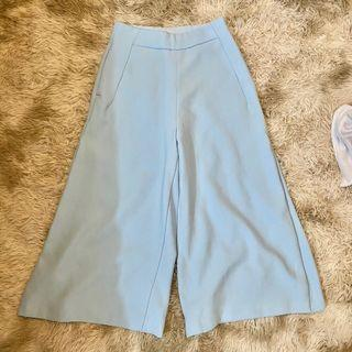 Pastel Blue Culottes