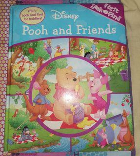 Pooh and friends first look and find book for toddlers